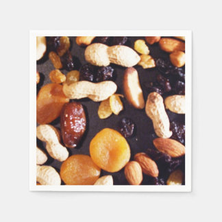 Fruit and Nuts Paper Napkin