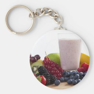 Fruit and Smoothie Keychain