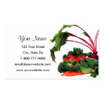 Fruit and Vegetable 3 Business Cards