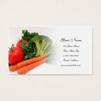 Fruit and Vegetable 4 Business Cards