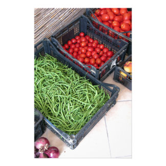 Fruit and vegetable boxes stationery