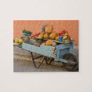 Fruit and vegetable cart, Cuba Jigsaw Puzzle