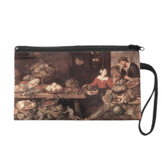 Fruit and Vegetable Market by Frans Snyders Wristlet Purses