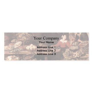 Fruit and Vegetable Market  by Frans Snyders Business Card