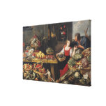 Fruit and Vegetable Market Canvas Print