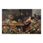 Fruit and Vegetable Market Poster
