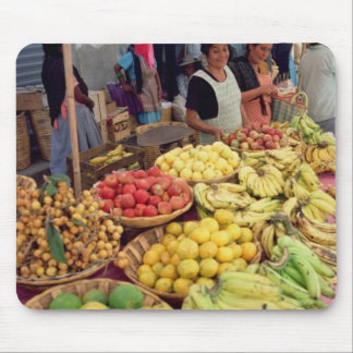 Fruit and vegetable stall mouse pad