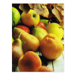 Fruit and vegetables, Apples and pears Post Card