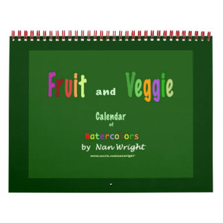 Fruit and Veggie Calendar