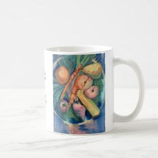 Fruit and Veggies by David Reynolds Classic White Coffee Mug
