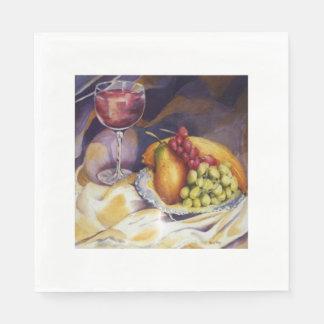 Fruit and Wine Napkin