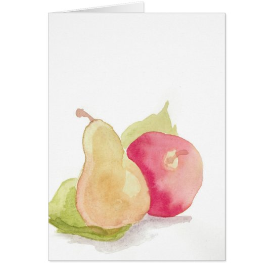 Fruit Arrangement Greeting Card