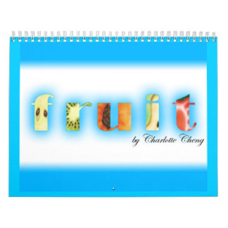 Fruit Art Calendar
