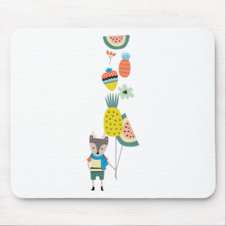 Fruit balloons mouse pad