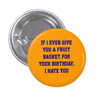 Fruit Basket 1 Inch Round Button