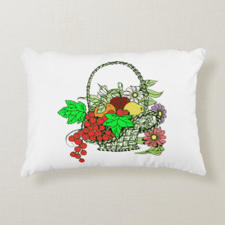 Fruit Basket Accent Pillow