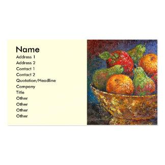 Fruit Basket Painting Art - Multi Business Cards