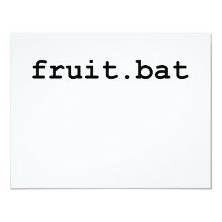 Fruit.bat Comunicado Personalizado