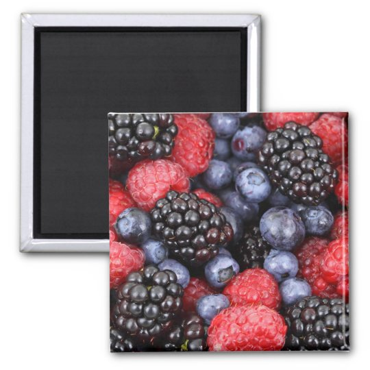 Fruit Berries Birthday Shower Party Love Destiny Magnet