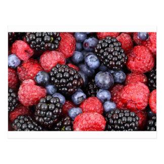 Fruit Berries Birthday Shower Party Love Destiny Postcard