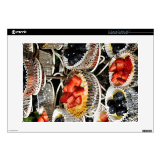 Fruit Berry Tarts Decals For Laptops