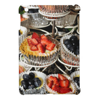 Fruit Berry Tarts in Season iPad Mini Cover