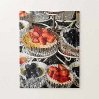 Fruit Berry Tarts Jigsaw Puzzles
