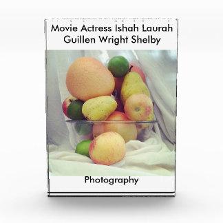 Fruit Bowl Acrylic Award