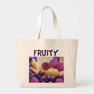 Fruit Bowl Tote Bags