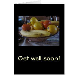 Fruit bowl card