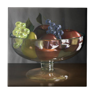 Fruit Bowl Ceramic Tile