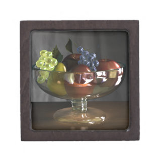 Fruit Bowl Magnetic Wooden Gift Box