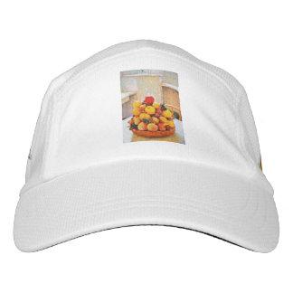 Fruit bowl painting headsweats hat
