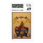 fruit bowl postage stamps