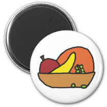 Fruit Bowl Still Life Magnet
