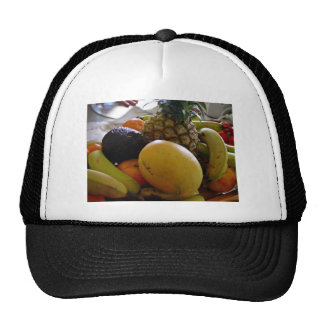 Fruit bowl with mango foremost trucker hat