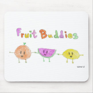 Fruit Buddies by Aubrey Mouse Pad