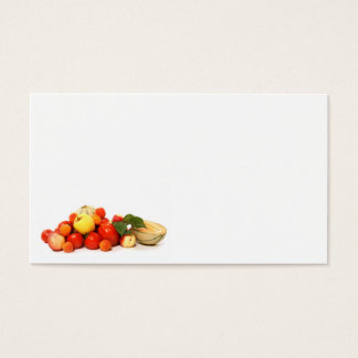 fruit business card