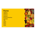 Fruit Double-Sided Standard Business Cards (Pack Of 100)