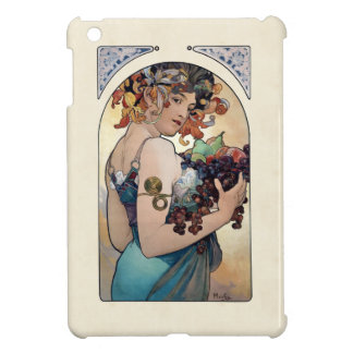 Fruit by Alfons Mucha 1897 Case For The iPad Mini