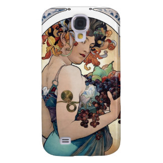 Fruit by Alfons Mucha 1897 Galaxy S4 Case
