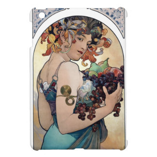 Fruit by Alfons Mucha 1897 iPad Mini Cover
