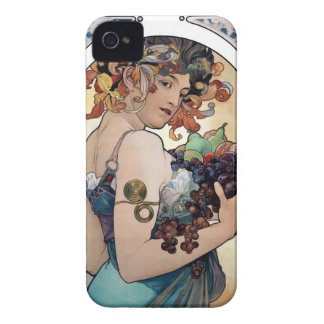 Fruit by Alfons Mucha 1897 iPhone 4 Case