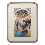 Fruit by Alfons Mucha 1897 Sleeve For iPads