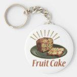 Fruit Cake Keychain