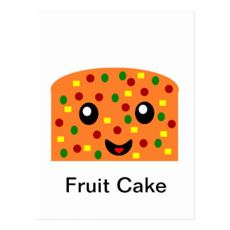 Fruit cake postcards