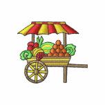 Fruit Cart Embroidered Shirt