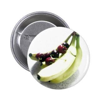 Fruit Cherries Bananas Dessert Destiny Gifts Pin