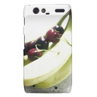 Fruit Cherries Bananas Dessert Destiny Gifts Motorola Droid RAZR Cover