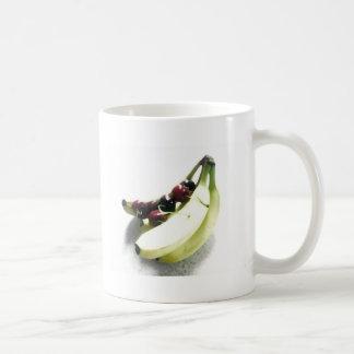 Fruit Cherries Bananas Dessert Destiny Gifts Classic White Coffee Mug